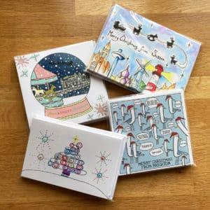 Rockinghorse Christmas card bundle