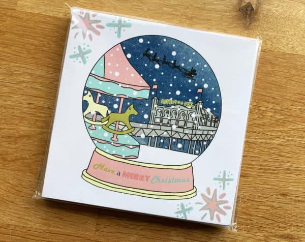 Posh Totty Christmas Card - Roching horse Children's CHarity